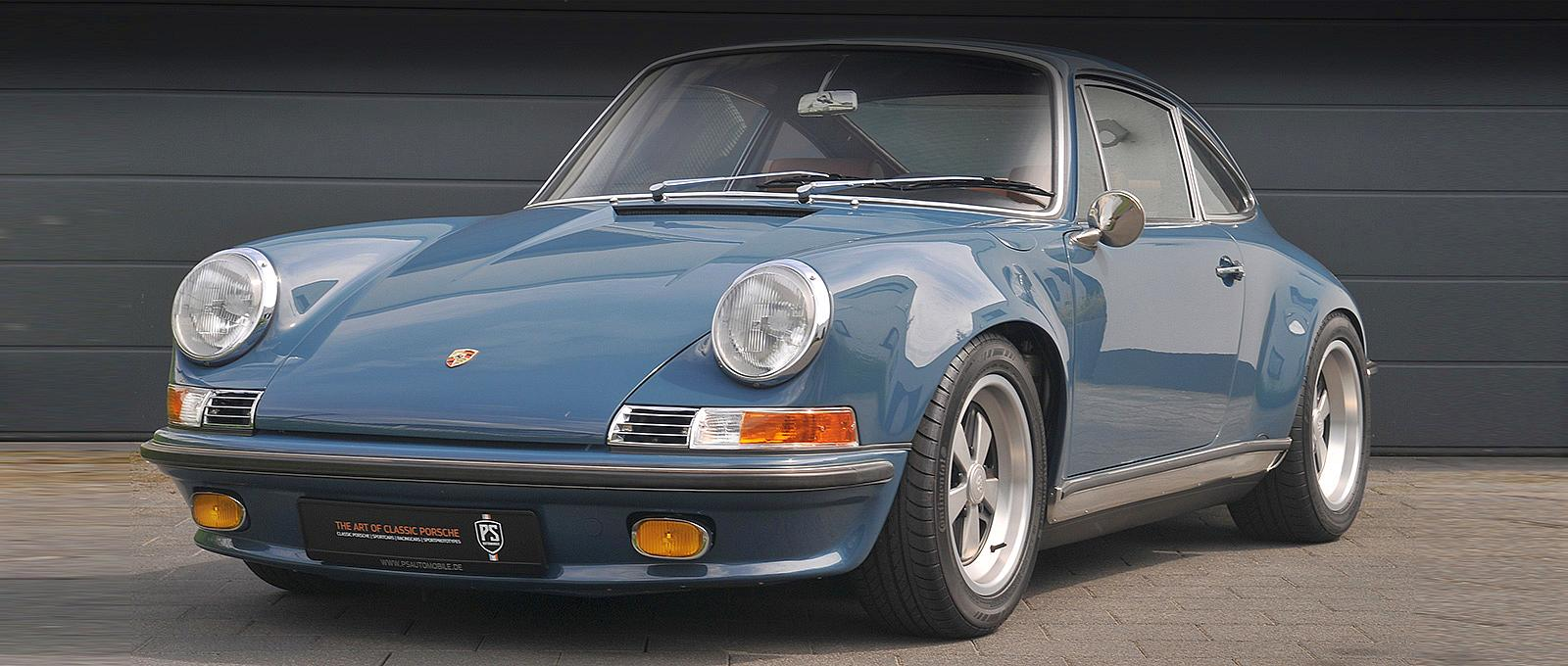 Porsche 911 ST RECONSTRUCTION