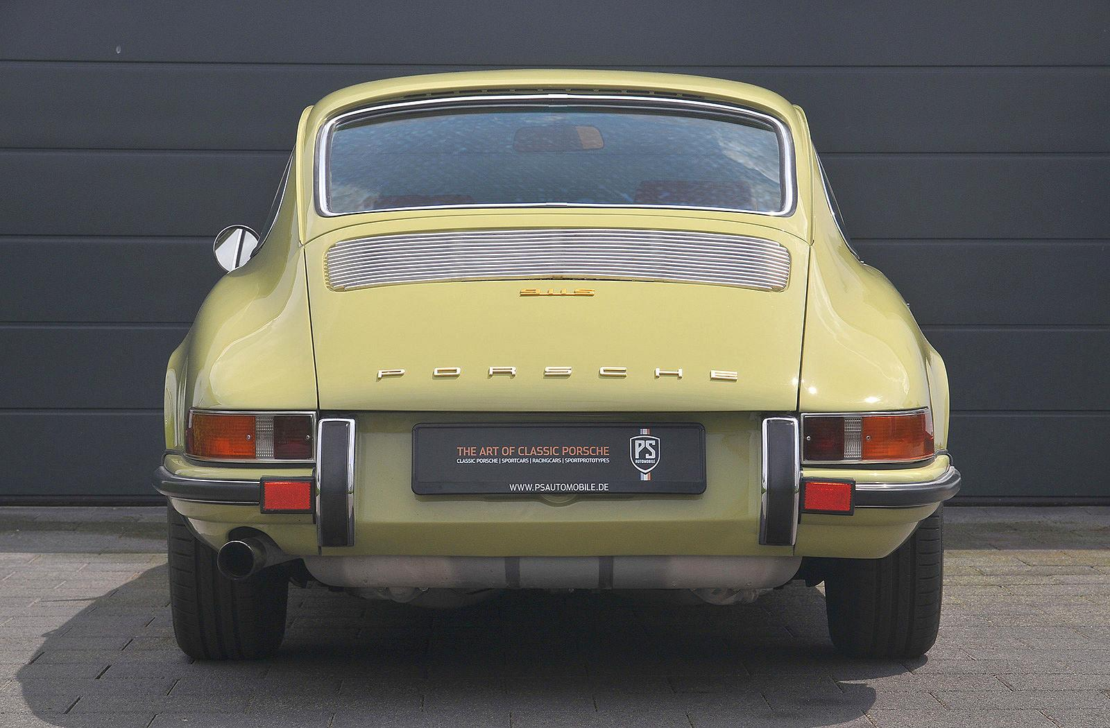 PS Automobile Porsche 911 2.0 S Coupe Gelb 01