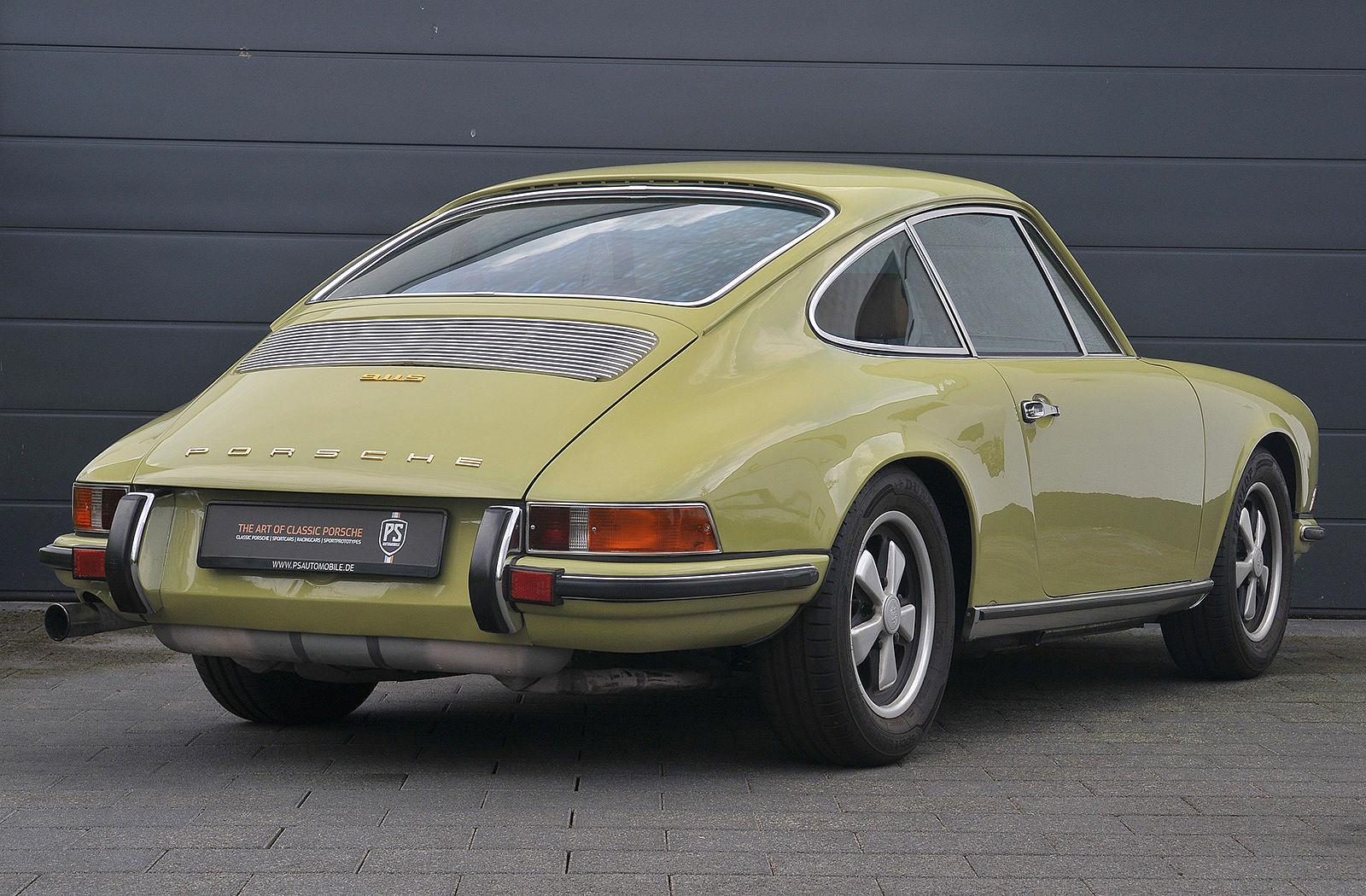 PS Automobile Porsche 911 2.0 S Coupe Gelb 03