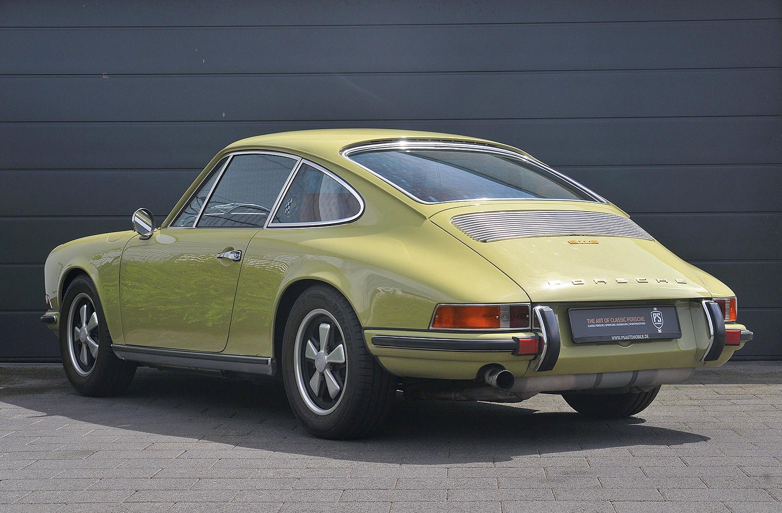 PS Automobile Porsche 911 2.0 S Coupe Gelb 04