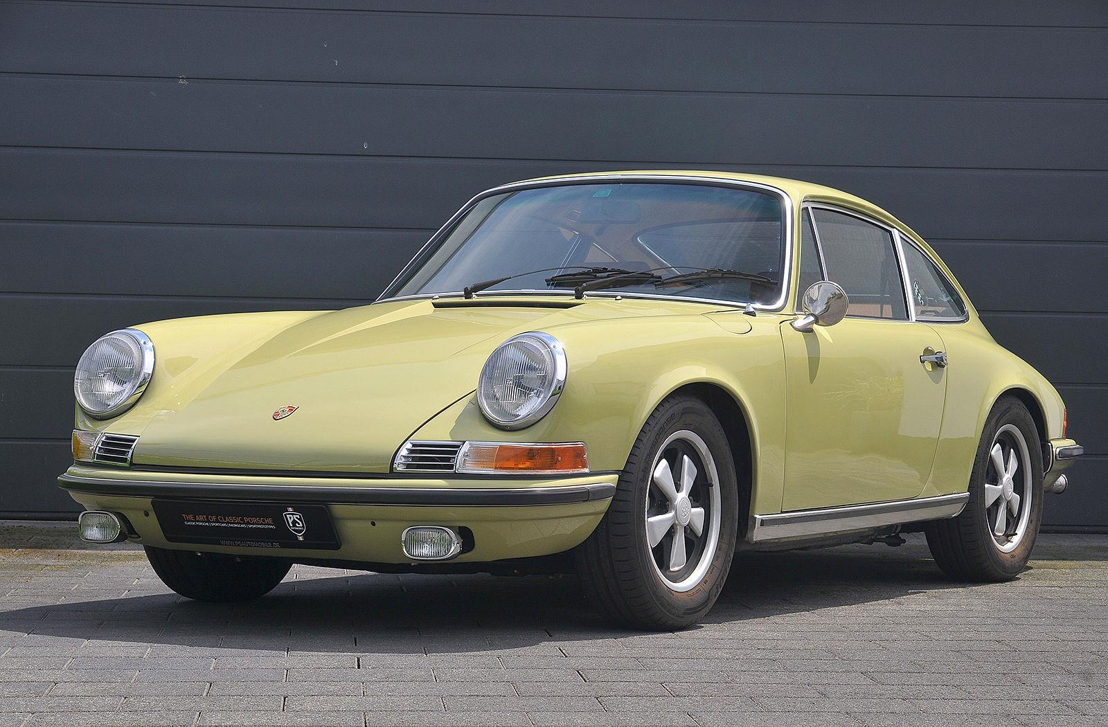 PS Automobile Porsche 911 2.0 S Coupe Gelb 08