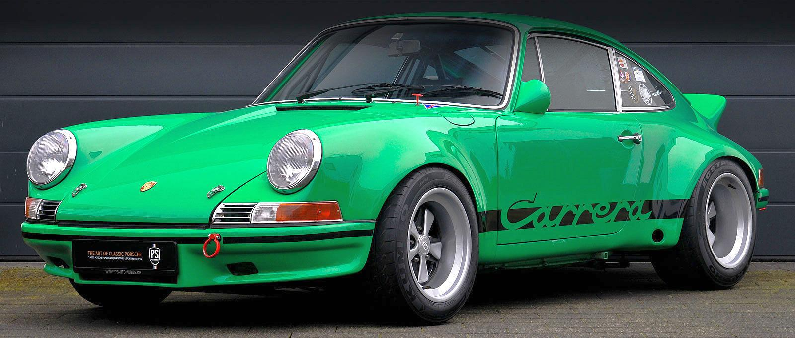 Porsche 911 2.8 RSR Aufbau